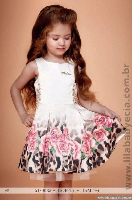 Vestido Infantil Miss Cake Doce Princesa Perola 510085