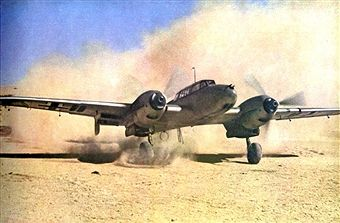The Desert War 1940-1943. Luftwaffe in the desert, German bomber landing in an advanced post in North Africa. The Western Desert Campaign, or the Desert War, took place in the Western Desert of Egypt and Libya and was one of the two major stages of fighting in the North African Campaign during the Second World War. Pin by Paolo Marzioli