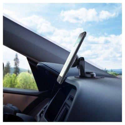 iTap Magnetic Dashboard Car Mount Holder, Black