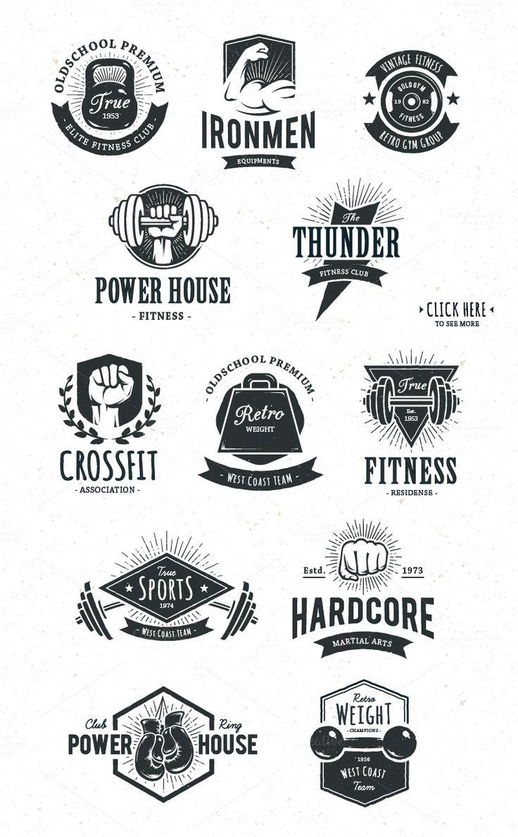 Retro Gym | Logo Templates