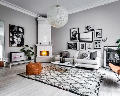 Scandinavian Style, Skandinavisch Wohnung, Wohnungsplanung, Graue Wohnzimmer,  Wohnzimmerfarben, Wohnzimmer Farbkombination, Weiße Ordnung, Schwarz Und  Weiß, ...
