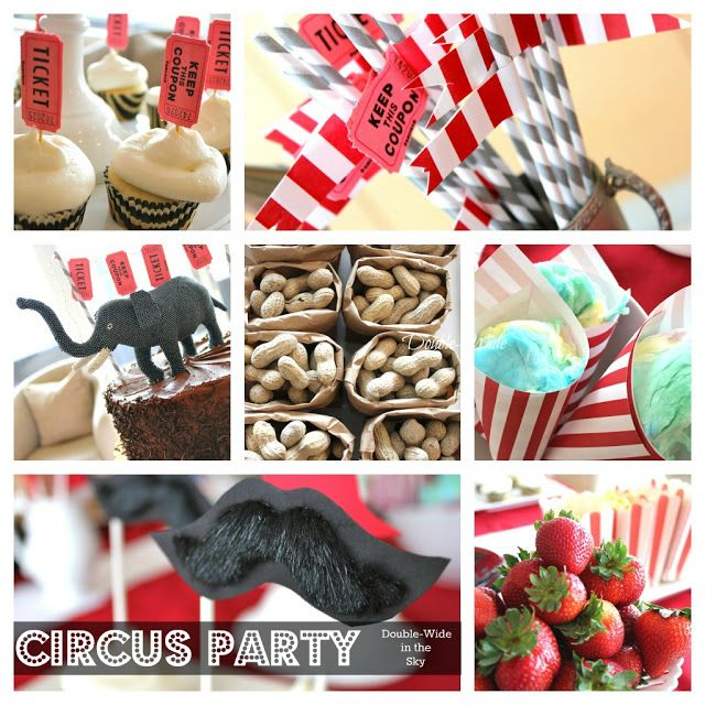 Double-Wide in the Sky: Circus Party