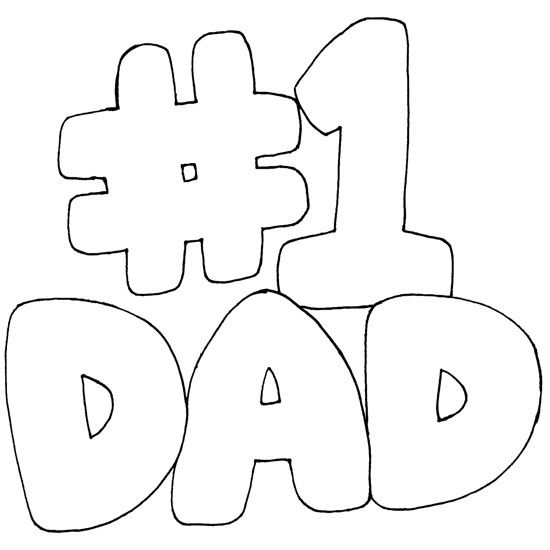 Love You Coloring Pages Dad For Kids