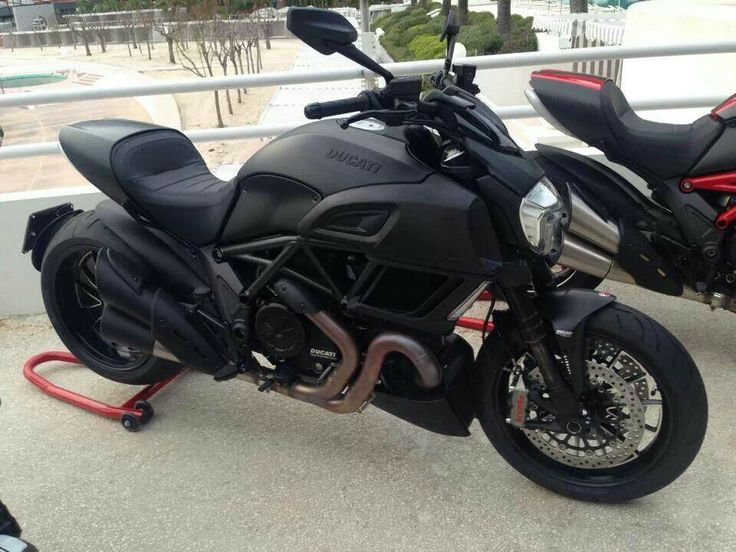 Black As Hell,yeah :@. Ducati DiavelHot ...