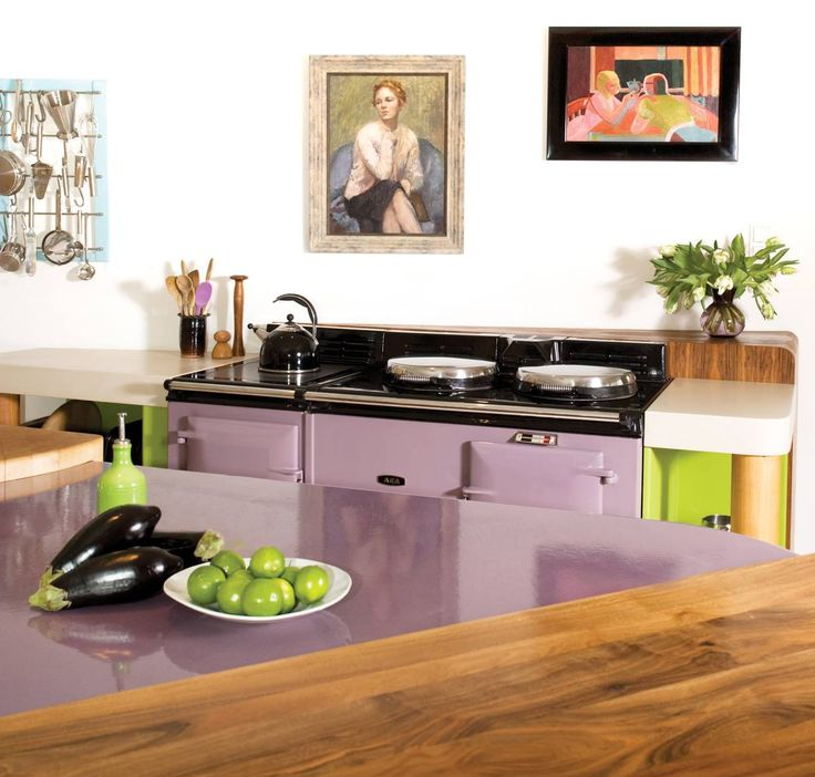 Inspiring Second Hand Cabinets 4 Dark Cherry Kitchen: 1000+ Images About GAGA FOR AGA KITCHENS On Pinterest