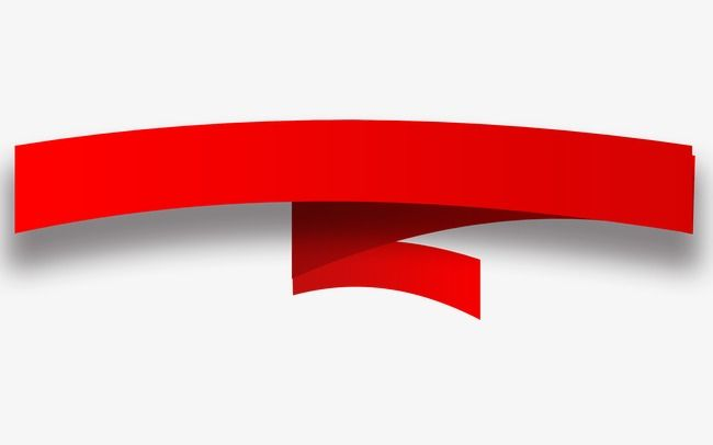 Red Ribbon Bar Title Ribbon Clipart Hot Events Title Png And Vector With Transparent Background For Free Download Ribbon Clipart Red Ribbon Transparent Background