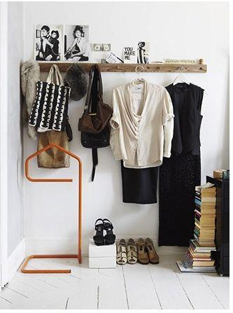 wardrobe by door
