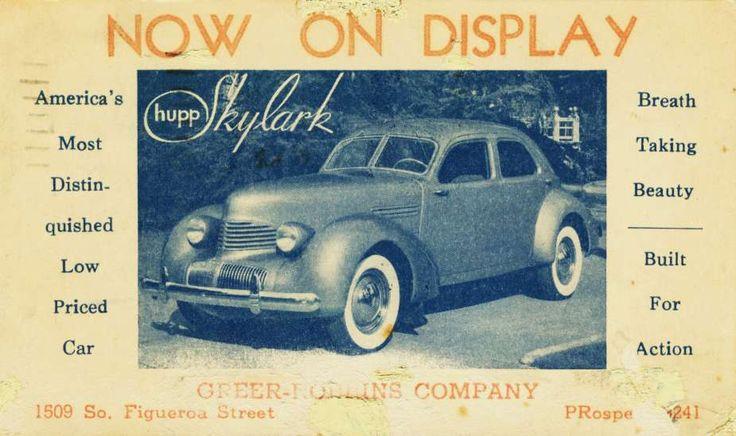 Hupmobile Skylark 1936