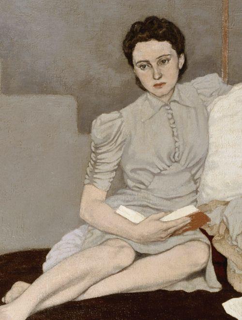 Artemis Dreaming, Girl in Grey, 1939 Louis le Brocquy