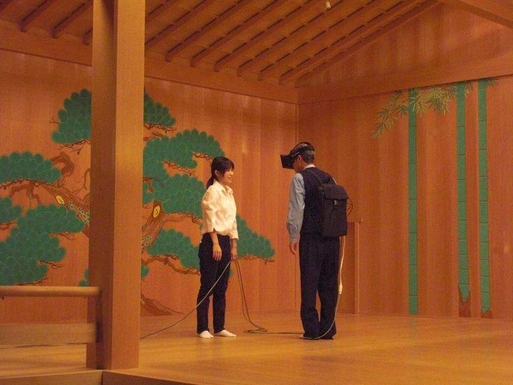 能というテクノロジー(豊田市能楽堂)   【事業】 http://decasu.jp/noutechnology/     【会場】 http://www1.t-cn.gr.jp/floor4.html