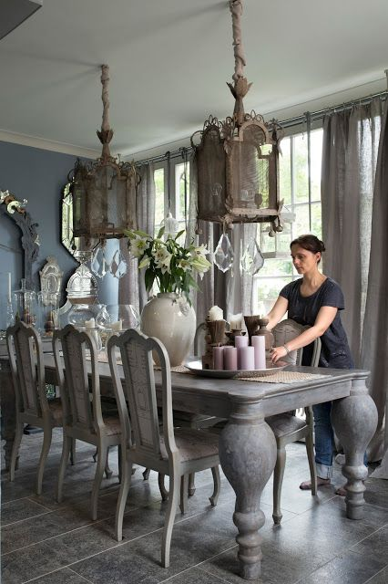 25 best ideas about french table on pinterest beautiful dining rooms kitchen in french and. Black Bedroom Furniture Sets. Home Design Ideas