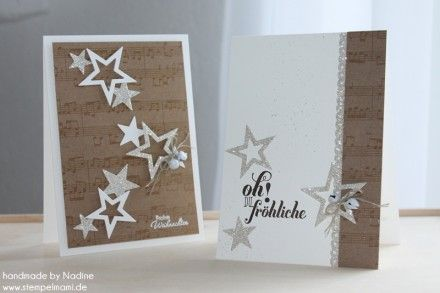 Weihnachtskarte Stampin Up Christmas Card Karte Card 099