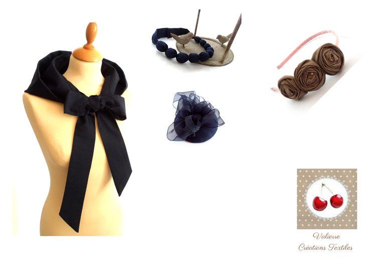 Créations textiles, raffinées  Handmade www.valierre.fr