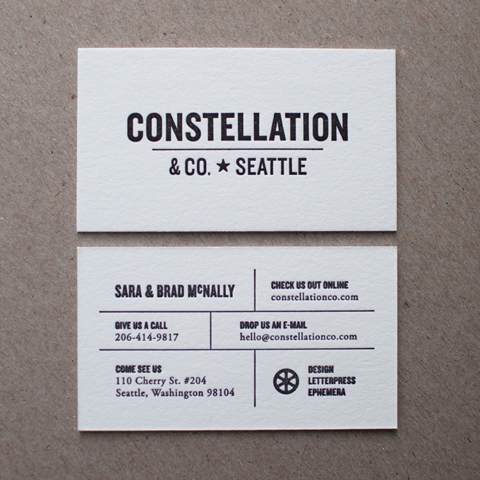 New Constellation Cards