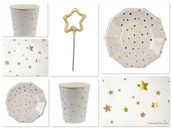 Stars Pattern Party Supplies  sc 1 st  Pinterest & 95 best Star Theme Party images on Pinterest   Birthday party themes ...