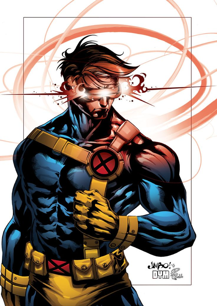 Cyclops by Jimbo and Denis Dym Freitas. Colors by Riccardo Rullo | X-Men, Marvel Comics, Super Heroes, #Xmen