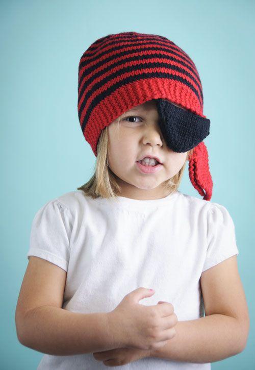 Pirate Hat (Free knitting pattern) : Spud & Chloe