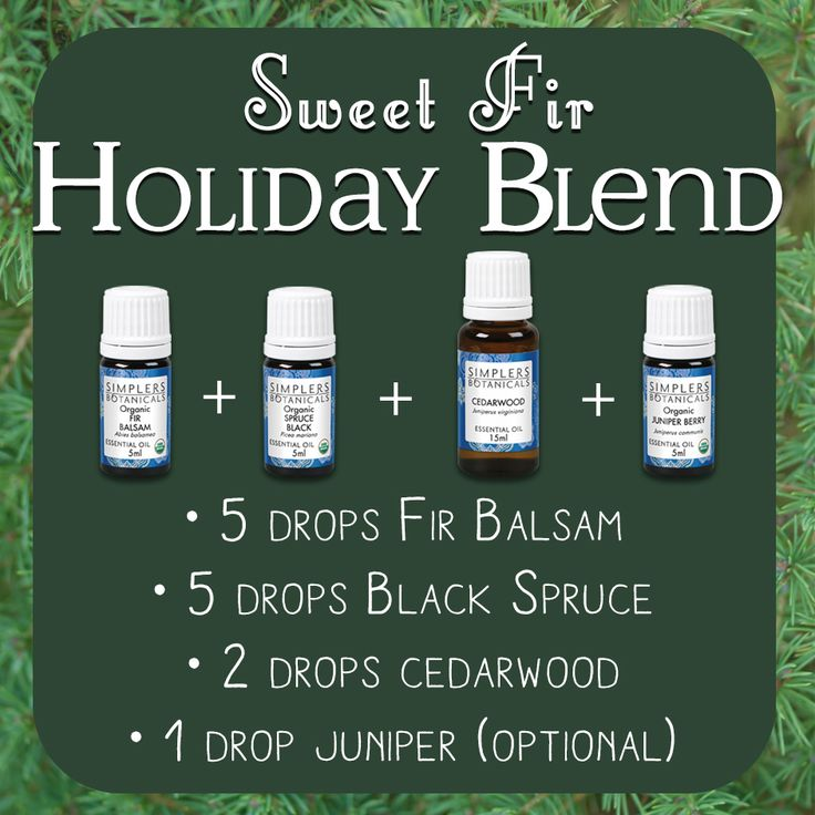 Bring the scent of a winter forest into your home with this festive essential oil blend! This mix of Fir Balsam, Black Spruce, Cedarwood, and Juniper is great added to holiday potpourri, or dropped on or around your christmas tree!