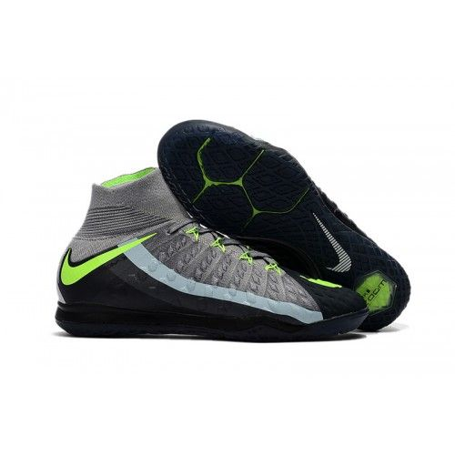 new arrival ec06c 81286 Nike Football Boots HypervenomX Proximo II DF IC Black Grey Green