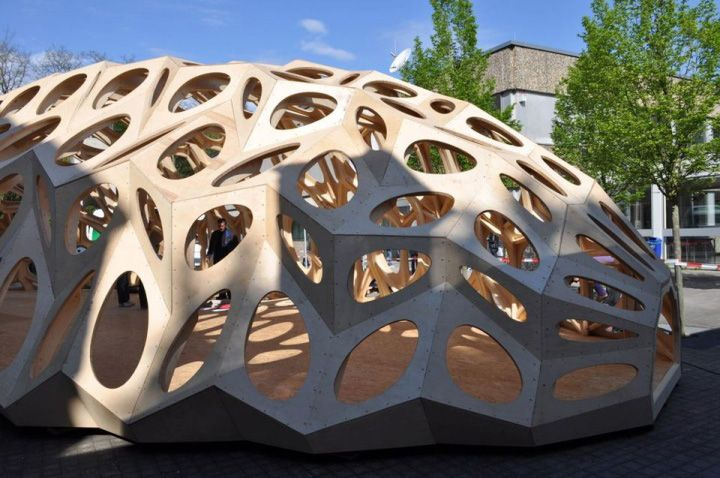 The Bowooss Bionic Inspired Research Pavilion