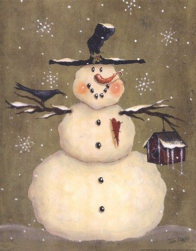 Frosty Friends - Buy Cheap Holiday Posters and Art Prints at DiscountPosterSale.com