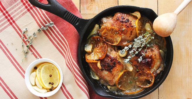 Chicken with Clementines: a Greek alternative to a Sunday Roast #ATasteOf