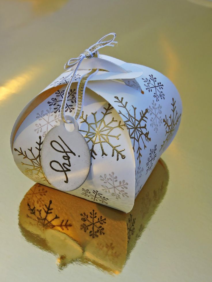 Crazy Crafters Stampin' Up! Blog Hop September- Holiday Catalogue Curvy Keepsakes Box