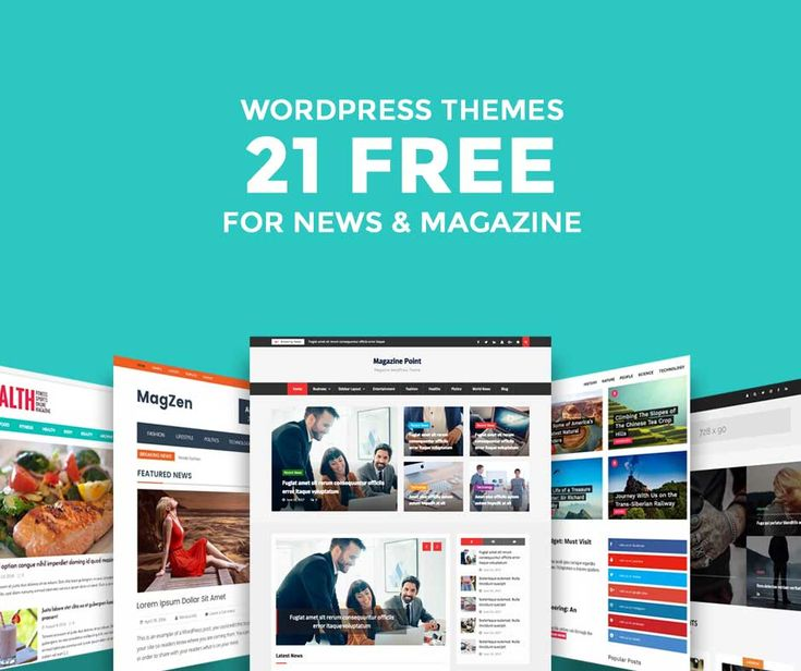 21 Free WordPress Magazine Themes for 2017  These WordPress themes collection may help you save time on finding the best free WordPress magazine themes for your news blogs, magazines, or newspapers' website.  #WordPressblogthemes #WordPressthemes #WordPress #blogthemes #bloggers #blogging #bloggingtips