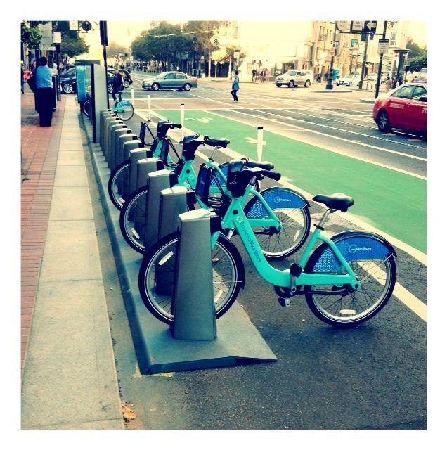 Bike Share! Tenth & Market.