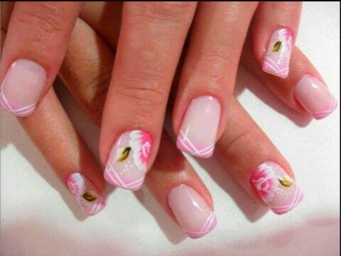 Flores rosas y blancas ♡