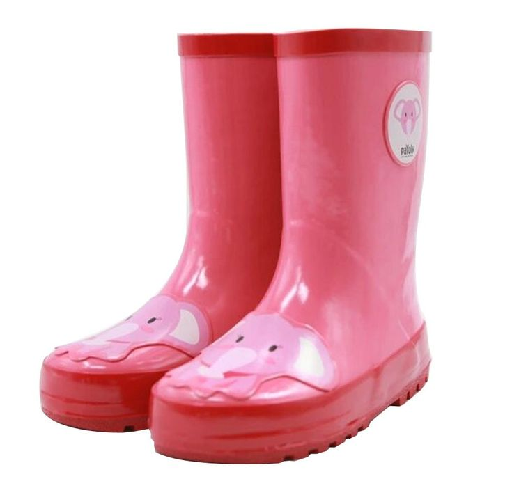 Cute Starry Kids' Rain Boots Pink Elephant Children Rainy Days Shoes 19.2CM. Rubber anti-slip rain boot. Color: pink. Size: 19.2cm. Please choose the best fitness size for your baby according to its feet's length. We offer the Highest Quality and Lowest prices Guranteed!!.