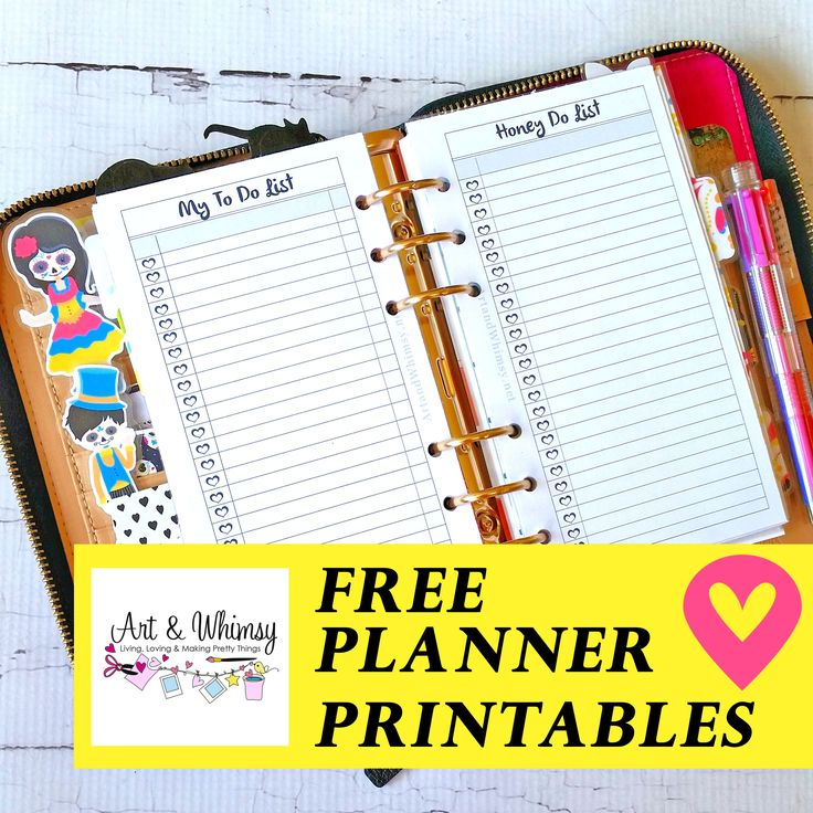 From time to time I create custom planner inserts for myself and I'd like to share them with you, my fellow planner girls, for Free. Some of these inserts become part of my regular set up and…