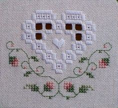 hardanger and cross stitch