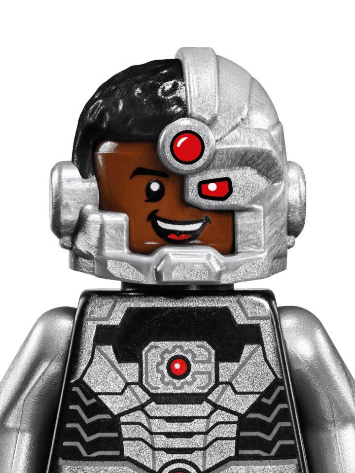 LEGO Cyborg pic 2 | Tatuaje de lego, Lego superhéroes