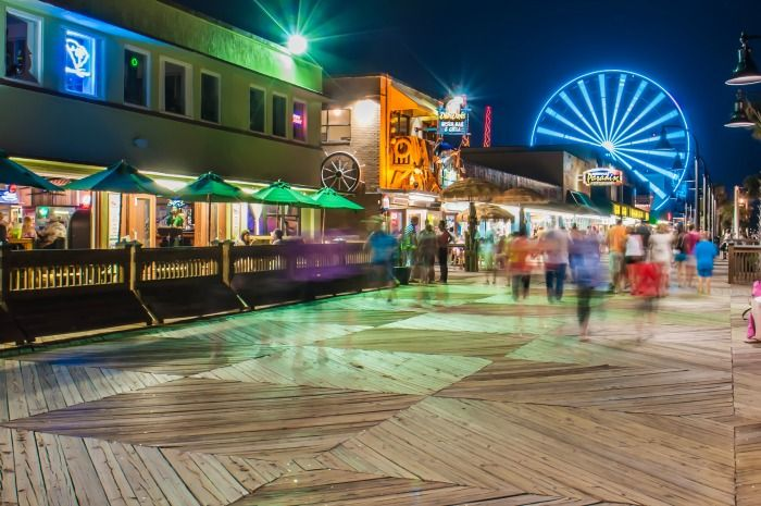 10 Free Things to do in Myrtle Beach SC Boardwalk
