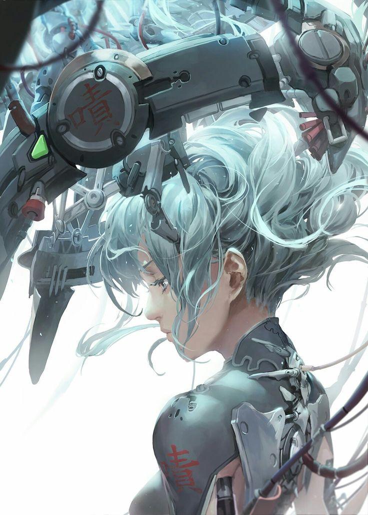 Belíssima ilustração!!!!! L.L.  Cyberpunk