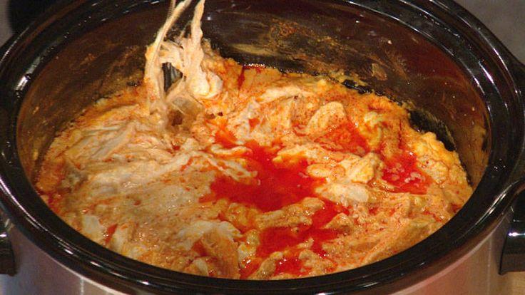 Lara Spencer's Slow Cooker Buffalo Chicken Dip Recipe   Rachael Ray Show