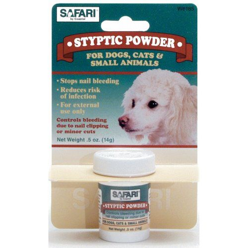 Coastal Pet Safari Styptic Powder Blood Stop for Dogs, Cats and Small Pets (1/2 oz.) *** Want to know more, click on the image.