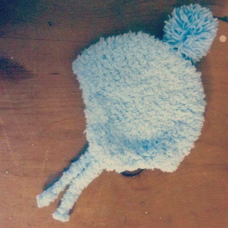 Baby earflaps hat