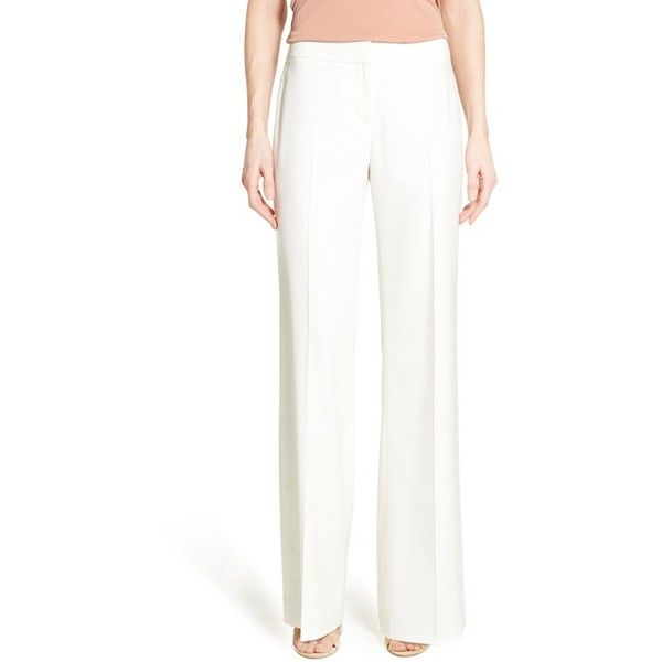 17 Best ideas about White Wide Leg Trousers on Pinterest | White ...