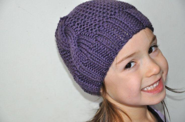 photo tricot patron tricot bonnet femme gratuit 3