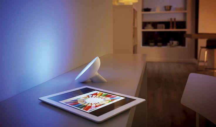 Philips Hue LED Living Colors Bloom Biała 7299760PH : System Hue LED : Sklep internetowy Elektromag
