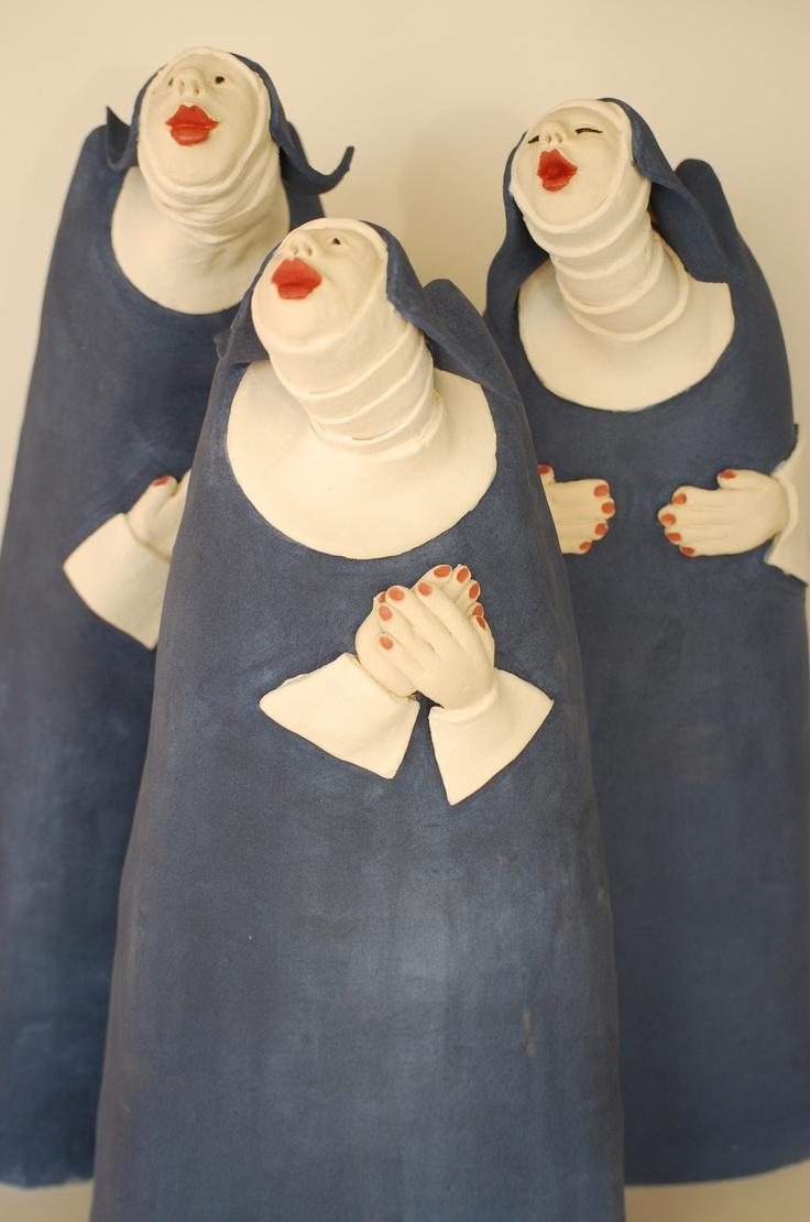 Mieke van den Hoogen.  Fun just 'cuz.  Back to my old Catholic school days!