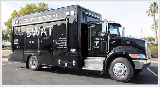 Tri City Regional Pd Swat Truck Police Swat Trucks