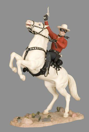Lone Ranger Aurora model kit with red shirt