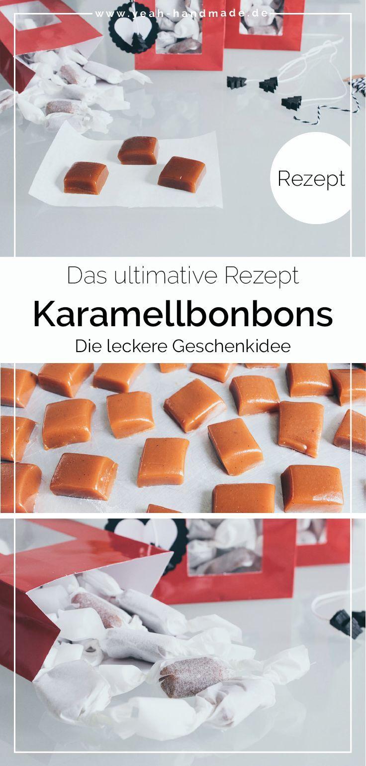 DIY Karamellbonbons selber machen