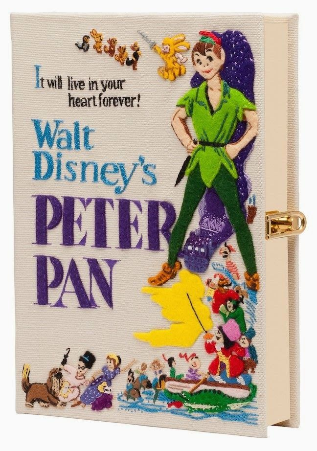 The Terrier and Lobster: Olympia Le-Tan Disney Movie Book Clutches