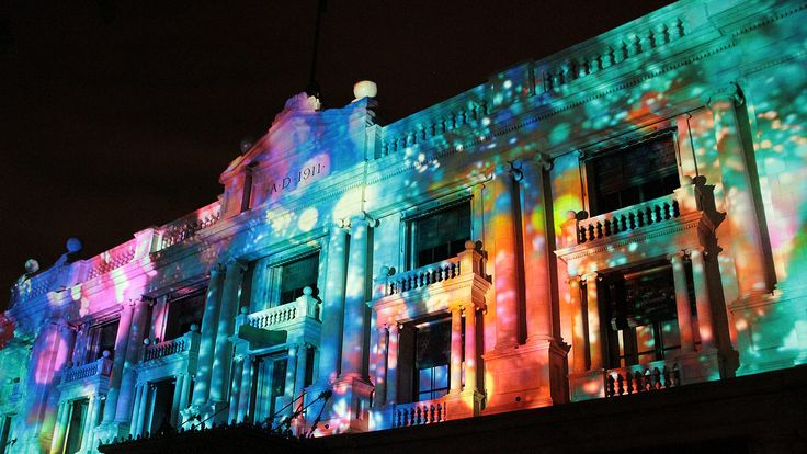 projection on buildings - Google Search