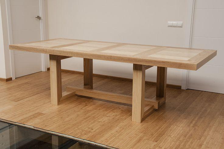 M s de 1000 ideas sobre mesa de roble en pinterest roble - Mesas de comedor a medida ...
