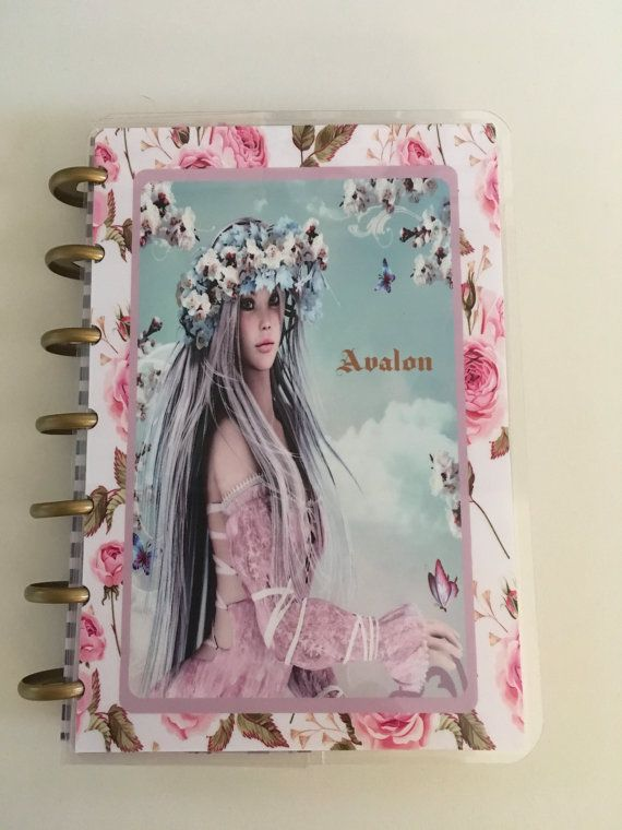 Rose Fairy Cover for Happy Planner Erin Condren and Mini